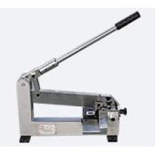 Blade perforating presser