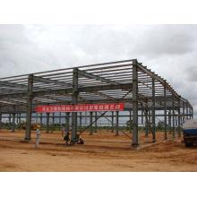 Light Steel Prefabricated Steel Buildings For Factory , Workshop