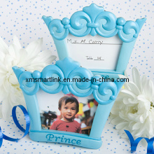 Poly Resin Kid′s Crown Photo Frame