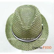 Boné promocional de chapéu de papel para chapéu de verão com chapéu de fedora bonés grossistas e chapéus