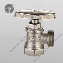 Nickel plate angle valve