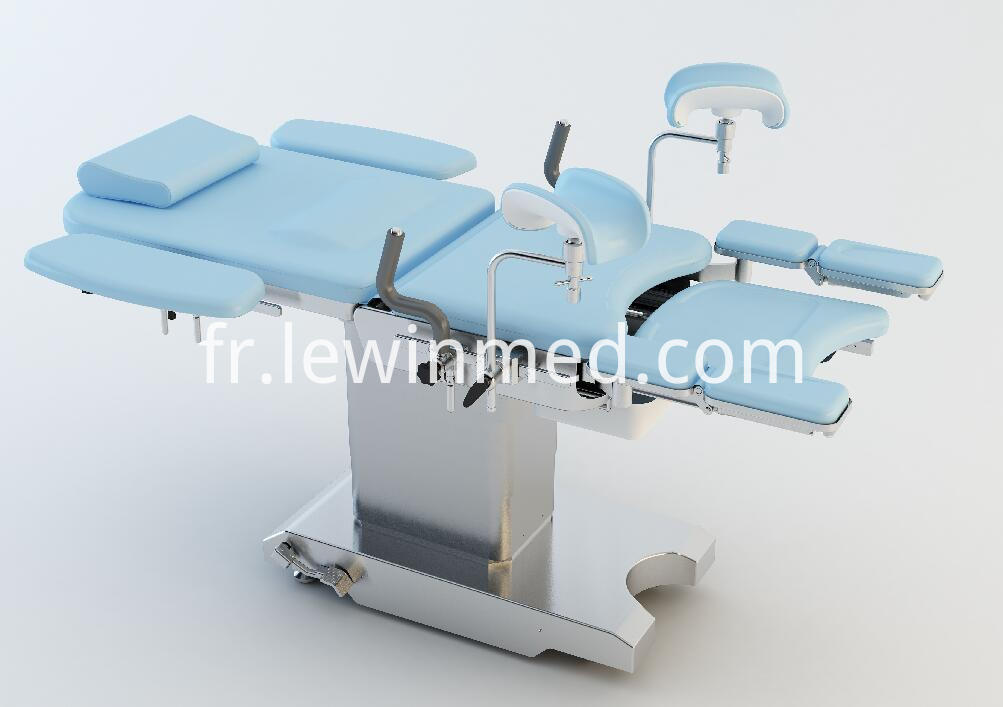 Blue Color Obstetric Bed