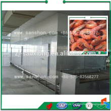 China Tunnel Freezer Machine,Fish Seafood Freezer Equipment
