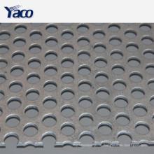 уменьшение шума перфорированный металлический лист тарелка на стену