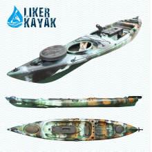 Liker Kayak modelo de barco único asiento pesca Kayak calidad estable para OEM al por mayor