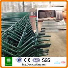 Materielles Gebäude der PVC-Beschichtung galvanisierte Zaun