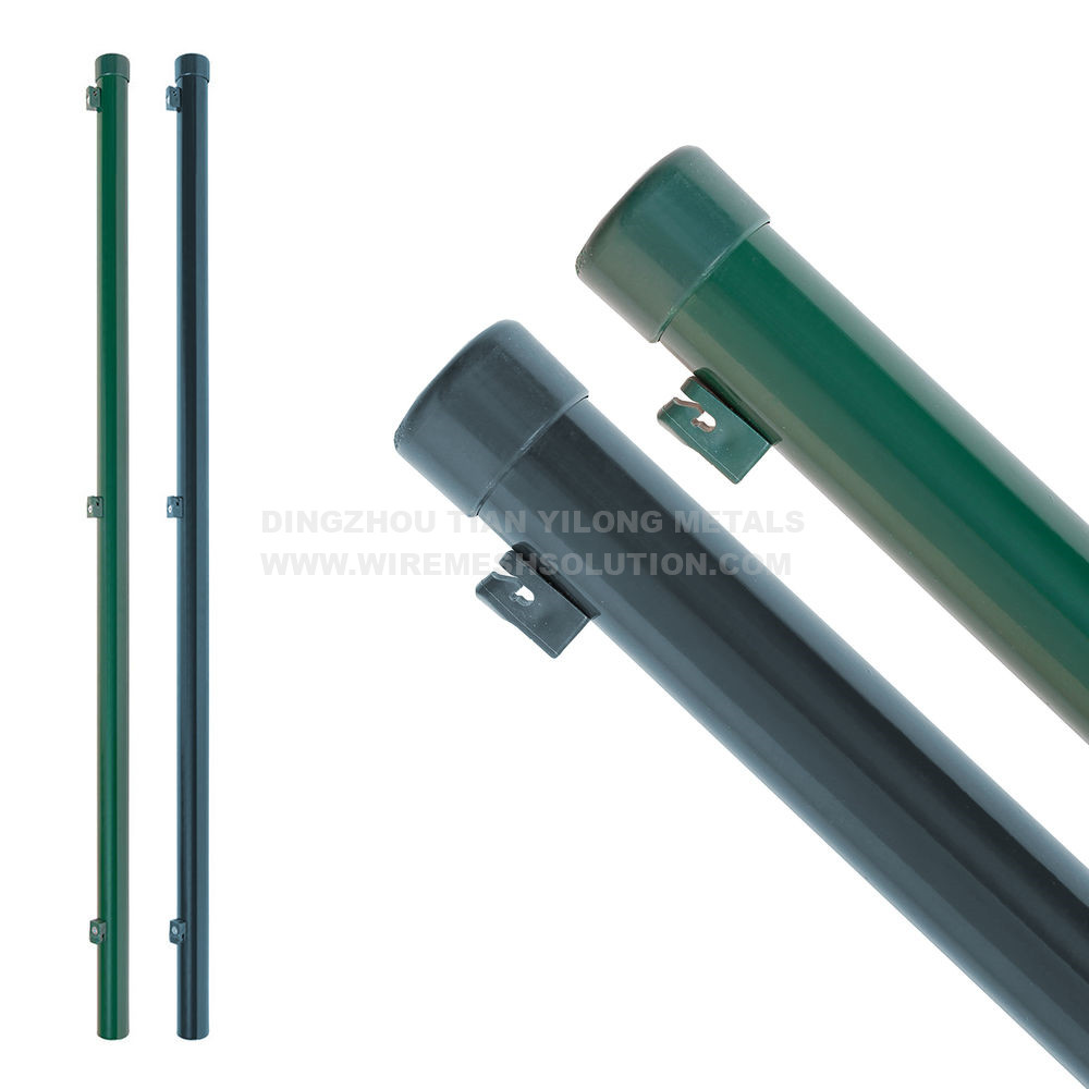 40mm Round Post With Wire Holders