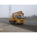 Dongfeng 4x2 auto crown hook scissor lift truck