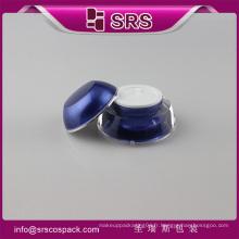 J032 crème acrylique à base de crème, crème de soins de la peau de haute qualité triangle jar