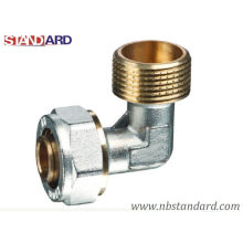 Pex-Al-Pex Fitting/Elbow with Male Thread/Compression Fitting