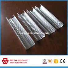 Sistema de partición de paneles de yeso para Oriente Medio Drywall Metal Stud Track