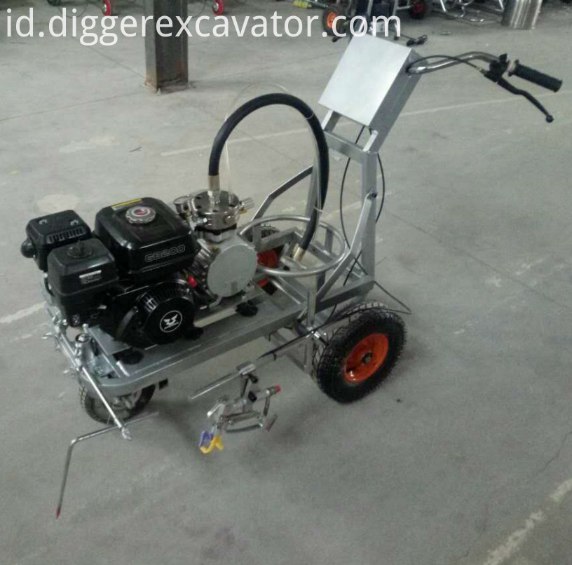 Cold Plastic Road Piant And Marking Machine