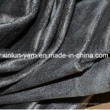 Tissu en daim de polyester de haute qualité pour le sac