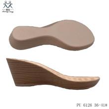 Suela de PU para sandalias