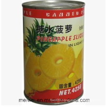 425g Canned Pineapple Slices in Light Syrup