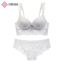 Discount Price for Lace Bra Sets women's full sweet lace bralette bra set export to South Korea Manufacturers
