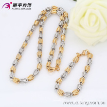 New Style Xuping Moda Multicolor Bead Jewelry Set para as Mulheres 63554
