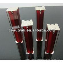 15ml 30ml 40ml 50ml 80ml 100ml 120ml Botella Airless de acrílico para el empaquetado cosmético