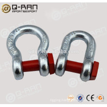 Rigging Drop Galvanized End Shackle For Anchor Chain