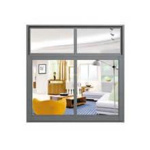 Ventana corrediza y abatible de doble acristalamiento de aluminio / metal de aluminio