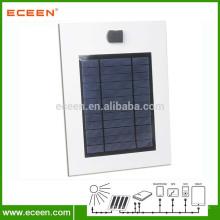Impressora de cartão de papel de 5watts carregador de painel solar, carregador de painel solar de publicidade para celular