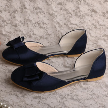 Amazon Ladies Shoes untuk Wedding Flat Navy