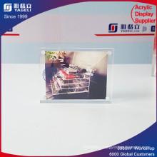 2017 Latest Romantic Style Colorful Acrylic Magnet Photo Frame