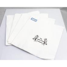 Servilletas de papel 2ply / servilleta de tabla del tejido con el logotipo 33X33cm de la impresión