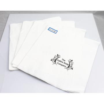 2ply guardanapo de papel / guardanapo de tabela de tecido com logotipo 33X33cm da impressão