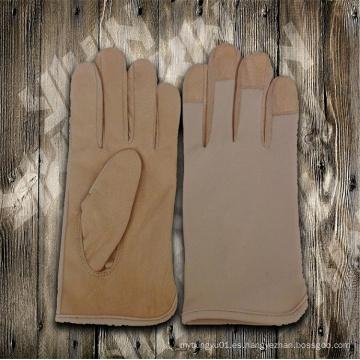 Guante de trabajo guante-guante de cuero-guante de guante barato