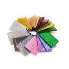 Christmas Decoration PMMA Cast Colorful Sheet Glitter Acrylic Board