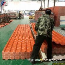 Building Materials ASA Plastic Synthetic PVC Roof Tile