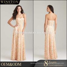 Alibaba Guangzhou Dresses Factory empregada de vestidos de casamento de honra