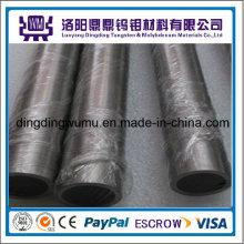Tubo de molibdeno puro 99.95% o horno de crecimiento cristalino conductos o tubos/tubos de tungsteno con precio de fábrica