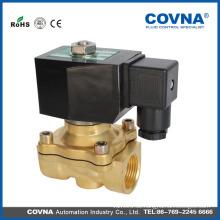 2-Wege-Messing-Magnetventil direkt wirkendes elektronisches Ventil für Wasser, Gas, Öl