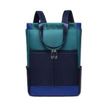 Custom nylon  leisure backpack ladies multifunctional backpack travel outdoor bag backpack