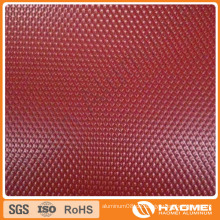 1060 1100 3003 Aluminium Stuck geprägte Platte