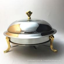 Buffetserver Speisenwärmer Kupfer Chafing Dish / Kerzenwärmer