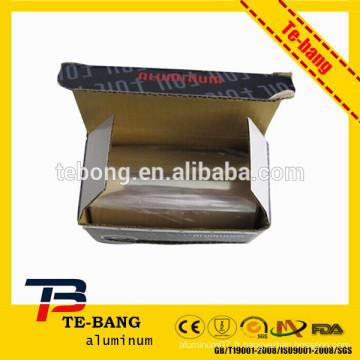 Nail Aluminium Foil Papier, cheveux Aluminium Foil Paper, Salon usage Aluminium Foil Paper