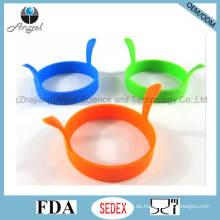 Werbe-Runde Silikon Ei Form Küche Werkzeug Se12