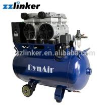 Compressor de ar dental isento de óleo Peças sobressalentes Secador de ar Peso 68KG