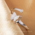 Jóia da forma do anel do cristal 925 jóia da prata esterlina (CR0056)