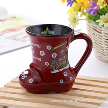 Christmas gift creative ceramic cup