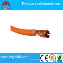 Prix d'usine High Qulaity 600 / 1000V CCA / Copper Strander Conducteur / Câble de soudage en caoutchouc
