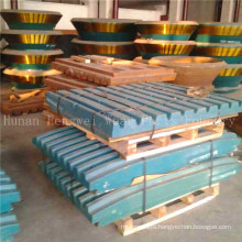 High Manganese Steel Jaw Crusher Plate for Cement