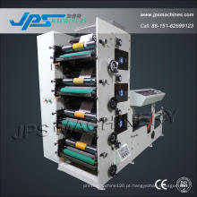Jps600-4c automático de quatro cores rolo de papel térmico tipográfico