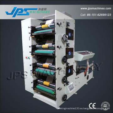 Tipografía automática de rollo de papel térmico de cuatro colores Jps600-4c
