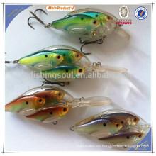 CKL016 10 cm china alibaba señuelo de la pesca al por mayor del señuelo del manivela del molde