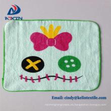 Toalla de mano de algodón de dibujos animados para niños como regalo