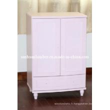 Armoires bois MDF meuble armoires armoires de cuisine porte (SH-ZT003)